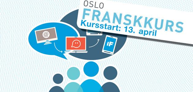 Nouveaux cours à partir du 13 avril 2015 à Oslo