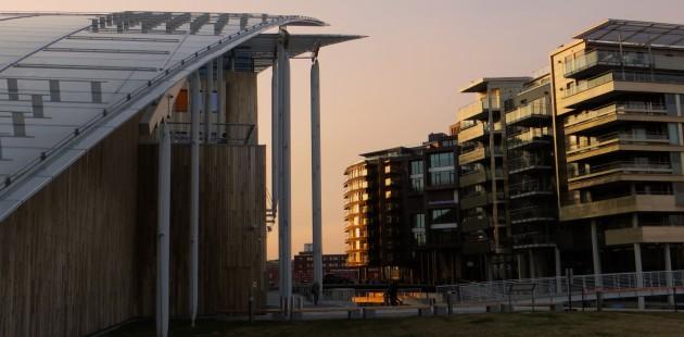 Le quartier de Tjuvholmen à Oslo