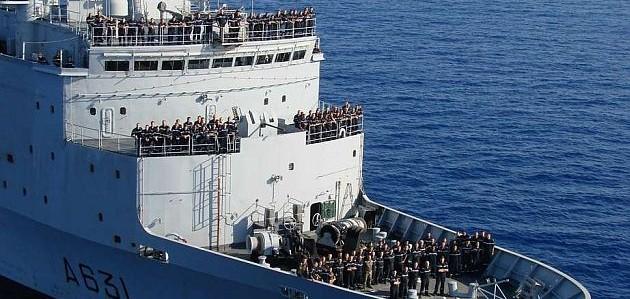Den franske marinen gjester Stavanger